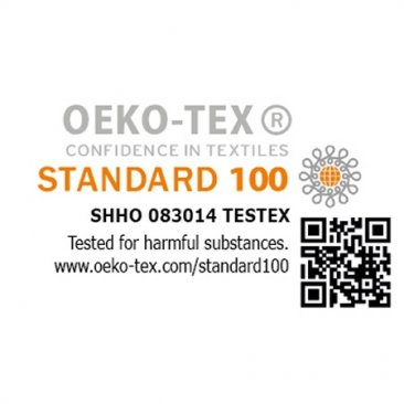 OEKO-TEX seal of approval